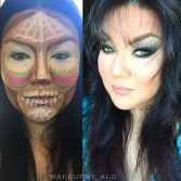 Day of the dead contouring